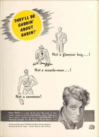 Moontide Ad They'll Be Gabbin About Gabin
