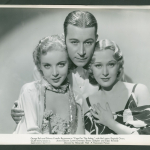 Ida Lupino, George Raft, and Dolores Costello Barrymore in Paramount's Yours For The Asking (1936)