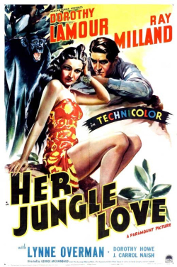 Her Jungle Love (1938) poster