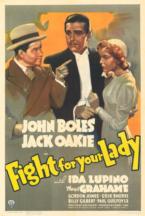 Fight For Your Lady (1937) poster