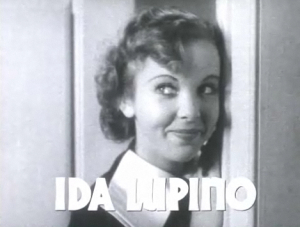 Ida Lupino in the trailer for Sea Devils (1937), filmed in late 1936