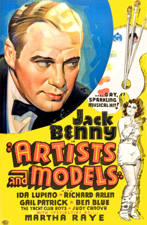 Artists And Models (1937) poster